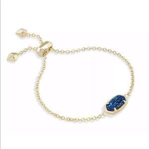 🆕 Kendra Scott Elaina Blue Drusy Bracelet